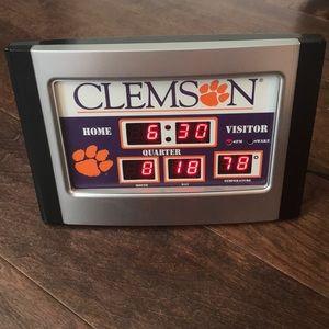 Clemson Alarm Clock